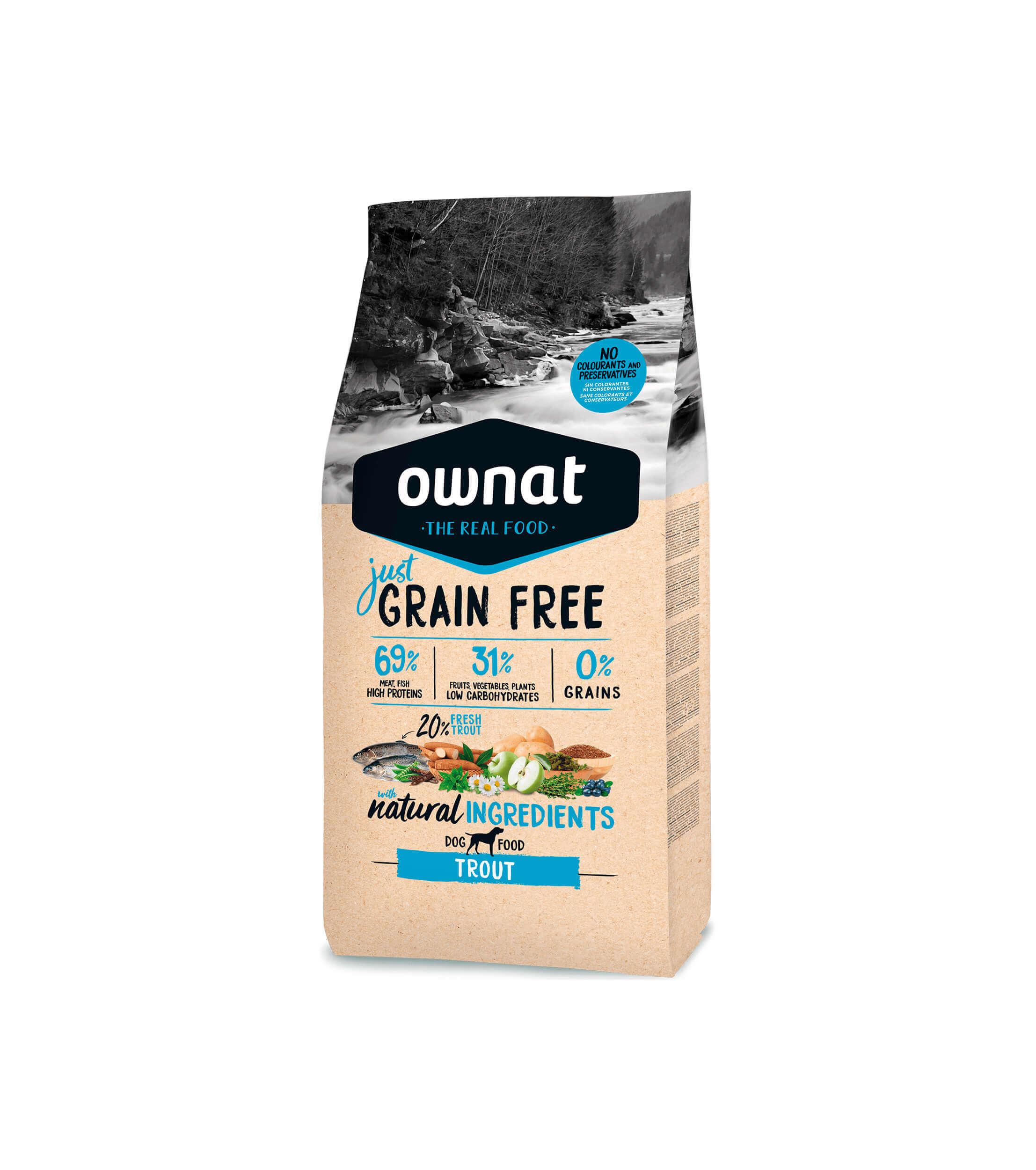 Ownat Grain Free Trucha