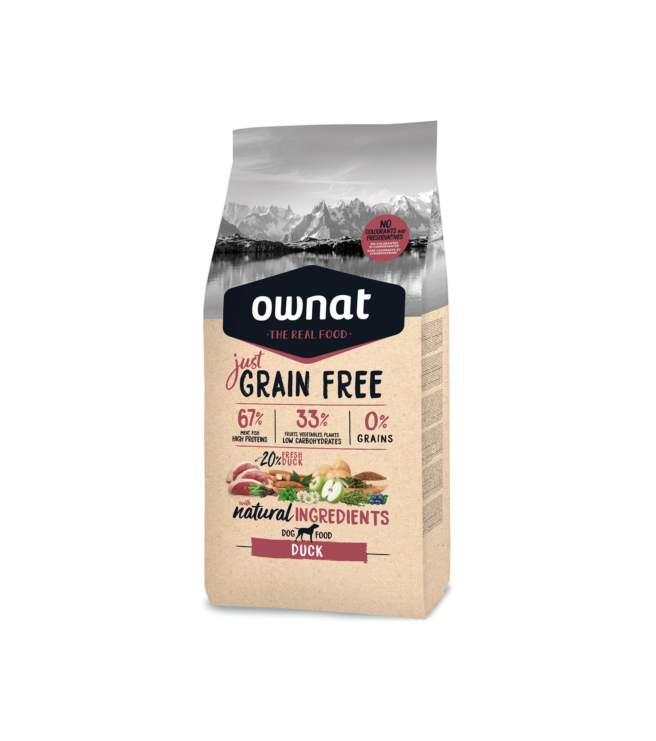 Ownat Grain Free Pato 3kg