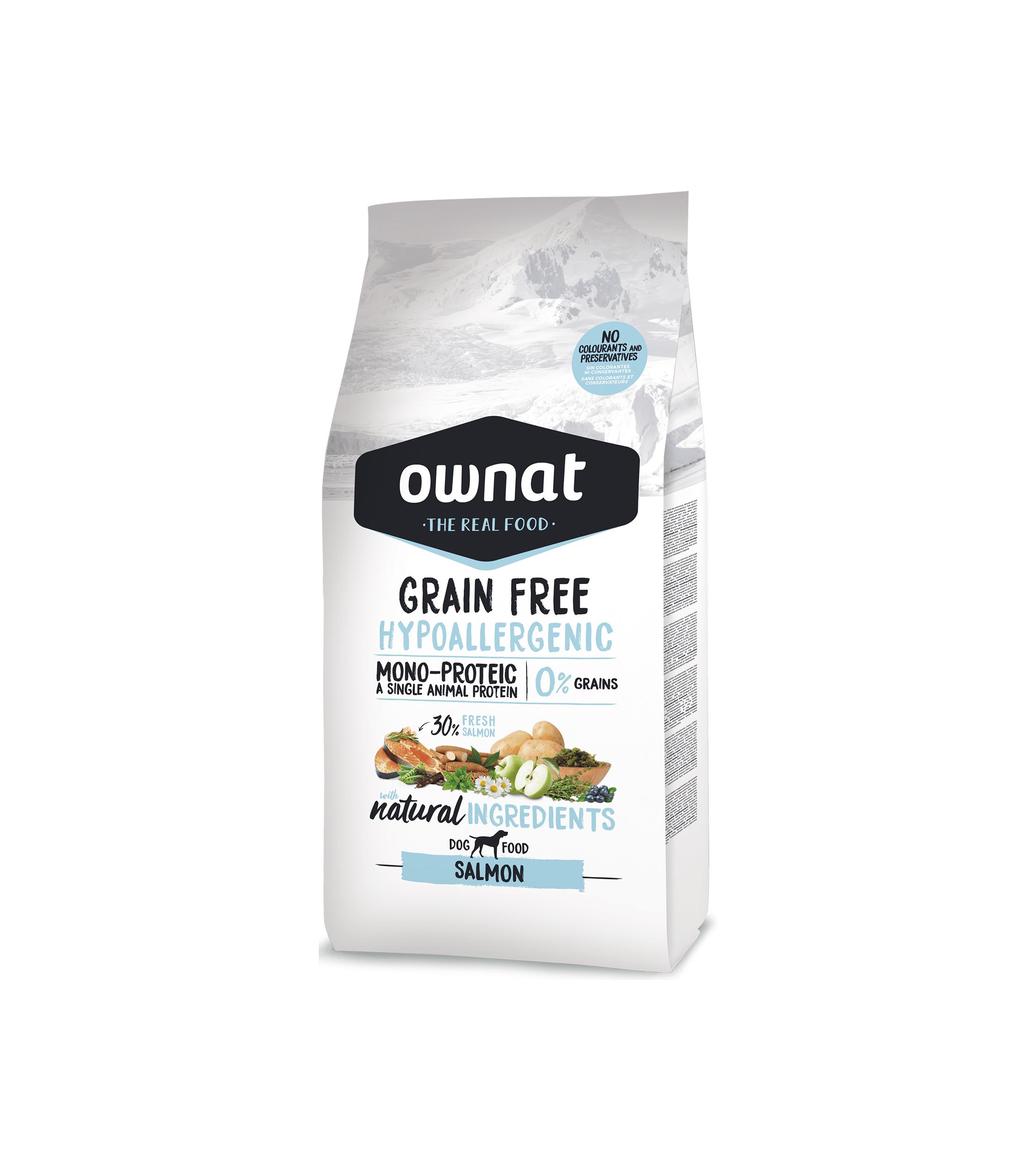 Ownat Grain Free Hypoallergenic Salmón